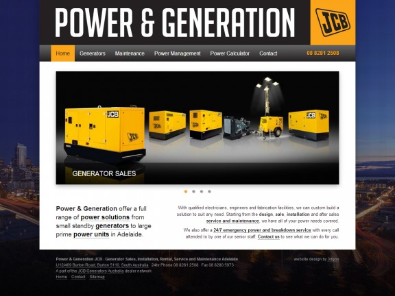 Power and Generation JCB